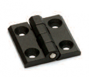CCN _ Black Metal Hinge with Through Hole