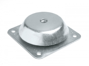 SCQ _ Square Bell Support with Threaded Nut