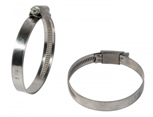 GX _ Worm Drive Hose Clamp - Band 12 mm