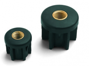CTB_Round PA Tube Fitting with Threaded Insert