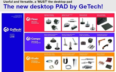 GeTech - Terrific deskpad!