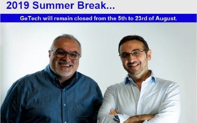 GeTech - Summer Break